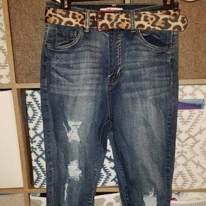 2 Pairs Juniors Jeans, Rampage and Dollhouse